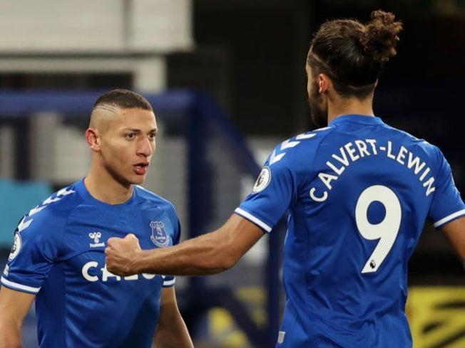 <p>Everton are looking to keep pace in the race for Champions League qualification</p> (Getty Images)