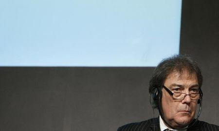 FILE PHOTO: David Howman attends a news conference during the European Commission Sport Forum in Budapest