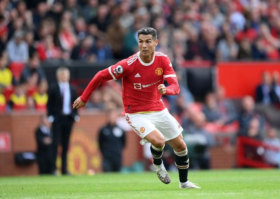 Cristiano Ronaldo scored twice on his second Man United debut (Getty Images)