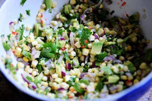 """<p>Omit the tomatoes in your normal salsa recipe, and add fresh corn and avocado. You'll be in for a refreshing upgrade on a classic. </p><p><strong><a href=""""https://thepioneerwoman.com/cooking/fresh-corn-avocado-salsa/"""" rel=""""nofollow noopener"""" target=""""_blank"""" data-ylk=""""slk:Get the recipe"""" class=""""link rapid-noclick-resp"""">Get the recipe</a>.</strong></p><p><strong><strong><a class=""""link rapid-noclick-resp"""" href=""""https://go.redirectingat.com?id=74968X1596630&url=https%3A%2F%2Fwww.walmart.com%2Fip%2FThe-Pioneer-Woman-Vintage-Floral-3-Piece-Serving-Bowl-Set%2F115837521&sref=https%3A%2F%2Fwww.thepioneerwoman.com%2Ffood-cooking%2Fmeals-menus%2Fg32157273%2Ffourth-of-july-appetizers%2F"""" rel=""""nofollow noopener"""" target=""""_blank"""" data-ylk=""""slk:SHOP SERVING BOWLS"""">SHOP SERVING BOWLS</a></strong><br></strong></p>"""