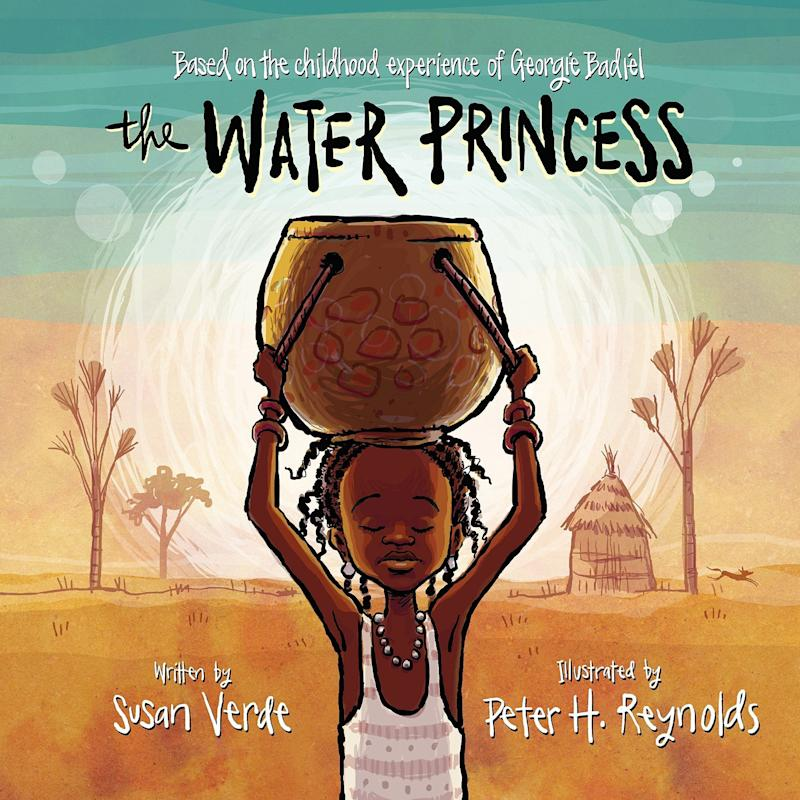 "Based on model Georgie Badiel&rsquo;s childhood, ""The Water Princess"" follows a young girl who wants to bring potable drinking water to her West African community. <i>(Available <a href=""https://www.amazon.com/Water-Princess-Susan-Verde/dp/0399172580"" target=""_blank"" rel=""noopener noreferrer"">here</a>)</i>"