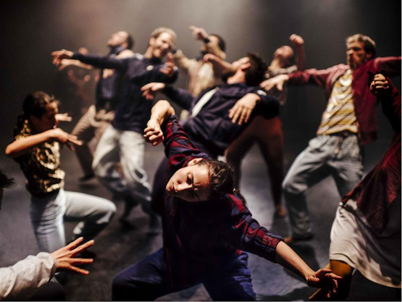 Hofesh Shechter Company perform 'Grand Finale' at Sadler's Wells: Rahi Rezvani
