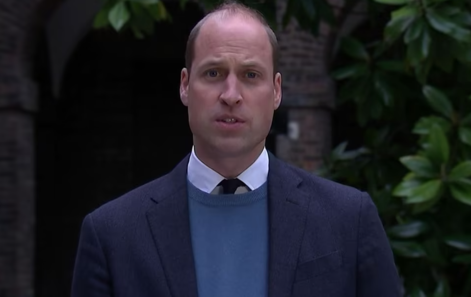Prince William speaks in a video following an investigation into his late mother's interview with Martin Bashir for the BBC in 1995.