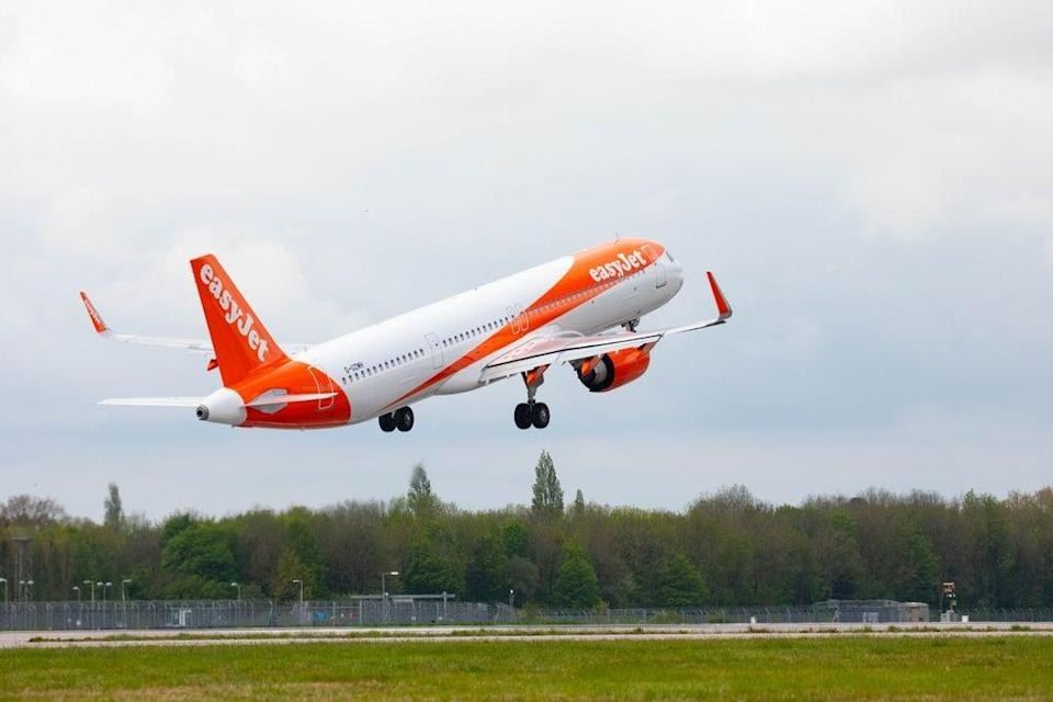 EasyJet hopes to raise £1.2bn from shareholders to help it recover from the Covid-19 pandemic (David Parry/PA) (PA Wire)