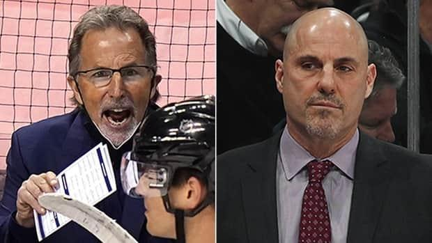 John Tortorella, left, and Rick Tocchet, right, will not return next season to coach the Blue Jackets and Coyotes, respectively. Tortorella's deal was set to expire this summer while Arizona is seeking new direction and leadership after missing the playoffs for a seventh time the past eight seasons. (Getty Images/ Matt Kartozian-USA TODAY Sports via Reuters - image credit)