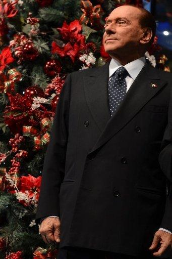 """<p>Silvio Berlusconi arrives for the RAI 1 television programme """"Porta a Porta"""" in Rome last week. Berlusconi has already begun to boost his low popularity levels with an intense media campaign which he hopes will land him the premiership for a fourth time.</p>"""