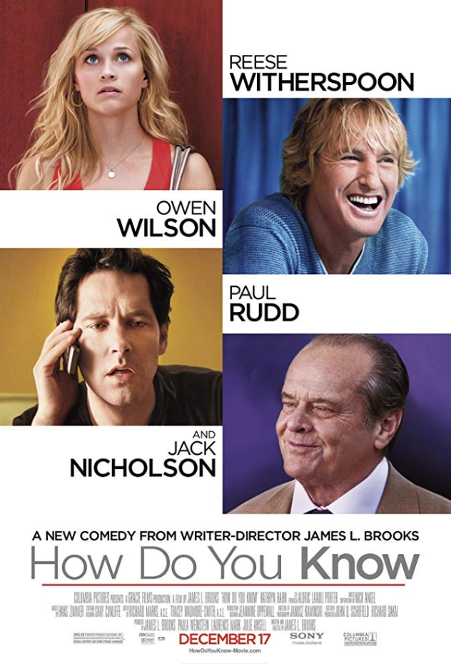 "<p>With big ticket names like Reese Witherspoon, Owen Wilson, Jack Nicholson, and Paul Rudd, <em>How Do You Know</em> seemed like it was destined to be a success. Instead, it was roasted by critics and only earned <a href=""https://www.boxofficemojo.com/release/rl341673473/"" rel=""nofollow noopener"" target=""_blank"" data-ylk=""slk:about $48.7 million"" class=""link rapid-noclick-resp"">about $48.7 million</a>.</p>"