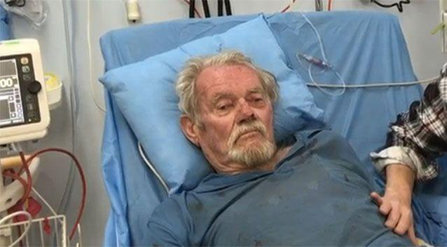 Bernie Howell was rescued after two nights lost in WA bushland. Picture: 7 News