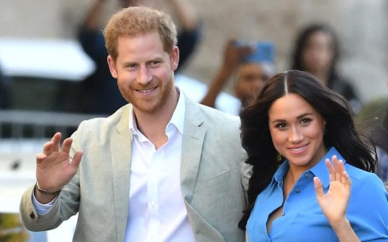 The Duke and Duchess of Sussex - PA