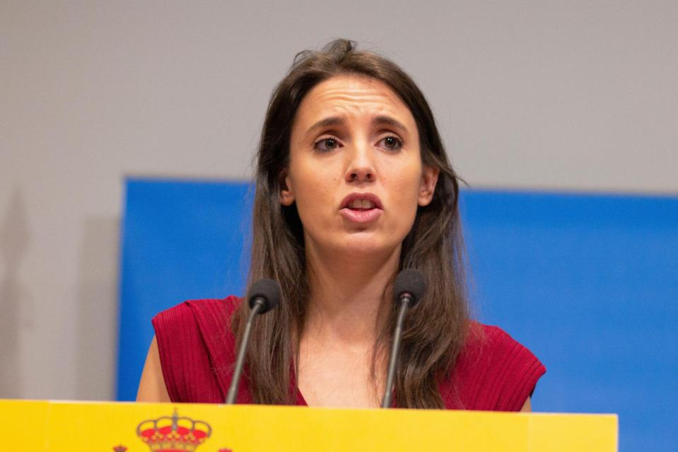 Irene Montero. (Photo: Getty)