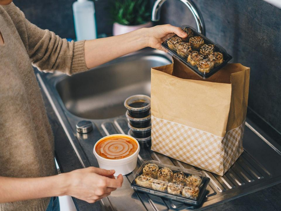 Getting a takeaway is one of life's greatest conveniences, but could produce a lot of waste (Getty Images)