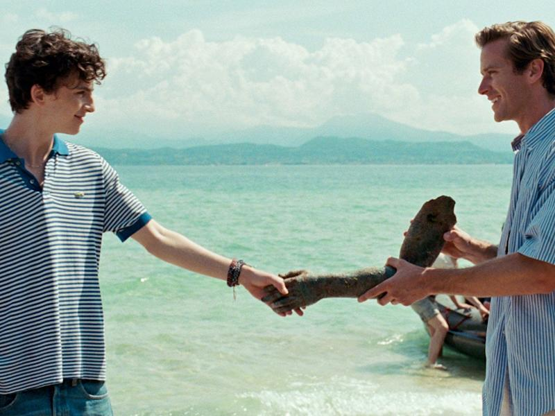 call me by your name timothee chalamet armie hammer