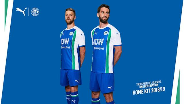 <p>A regular theme this year, a team trying to recreate a retro classic, but it has not worked. Blue with a white and green trim – oh dear. (WAFC's website) </p>