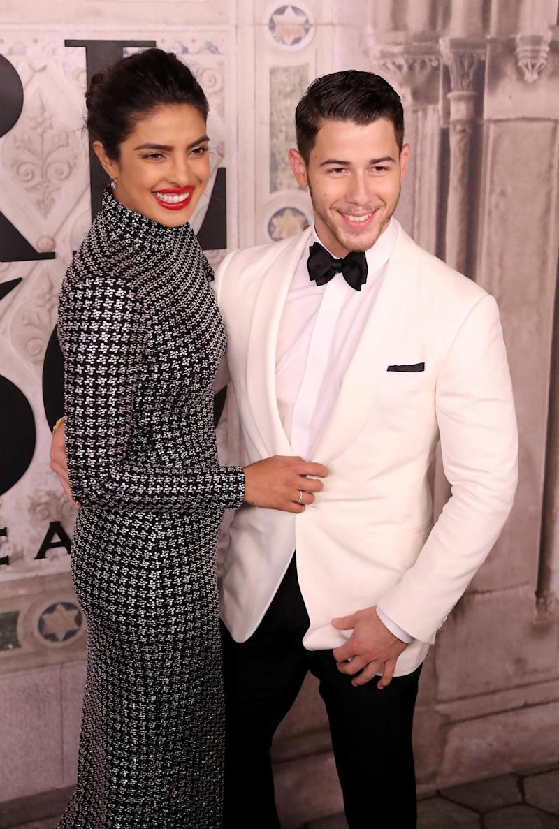 Married: Priyanka Chopra and Nick Jonas (Getty Images)
