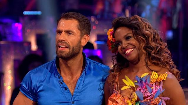 Kelvin Fletcher says he hopes the Oti Mabuse rumours will 'blow over' and that things with he and his wife are 'amazing' (BBC)
