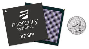 The RFS1080 RF SiP is a high-frequency, direct-to-digital transceiver solution designed and manufactured in a trusted, DMEA-accredited facility that successfully scales computing density while lowering system-level costs, size and power in a compact BGA form factor.