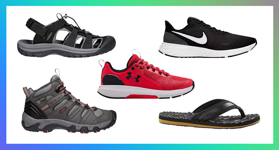 Save on top brands like Keen, The North Face, and Nike during this massive Sport Chek sale (Photos via Sport Check)