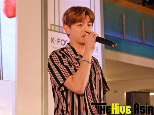 Eric said that he'd like to come back and 'party' with his Malaysian fans again.