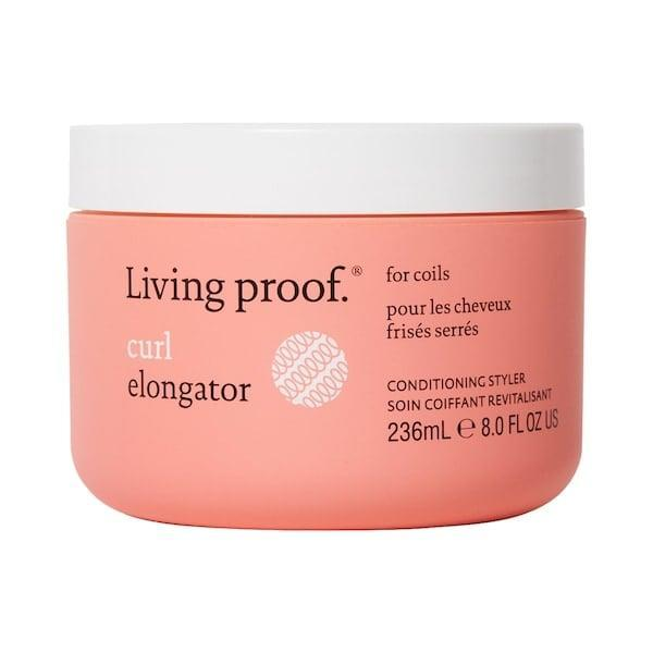 <p>This <span>Living Proof Curl Elongator</span> ($38) works well on even tightly coiled hair as it detangles all curls so there's more definition, separation, and hold in the finished styles. </p>