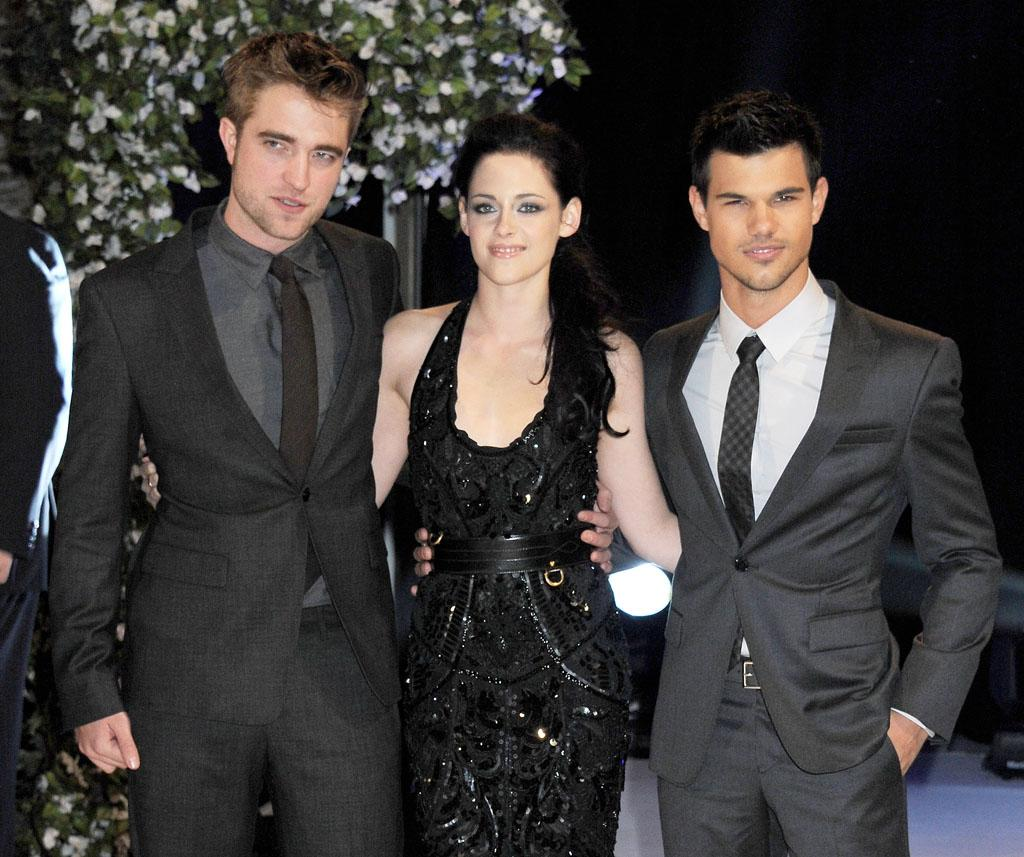 <b>Pattinson, Stewart, and Lautner together</b><br>No appearances booked yet