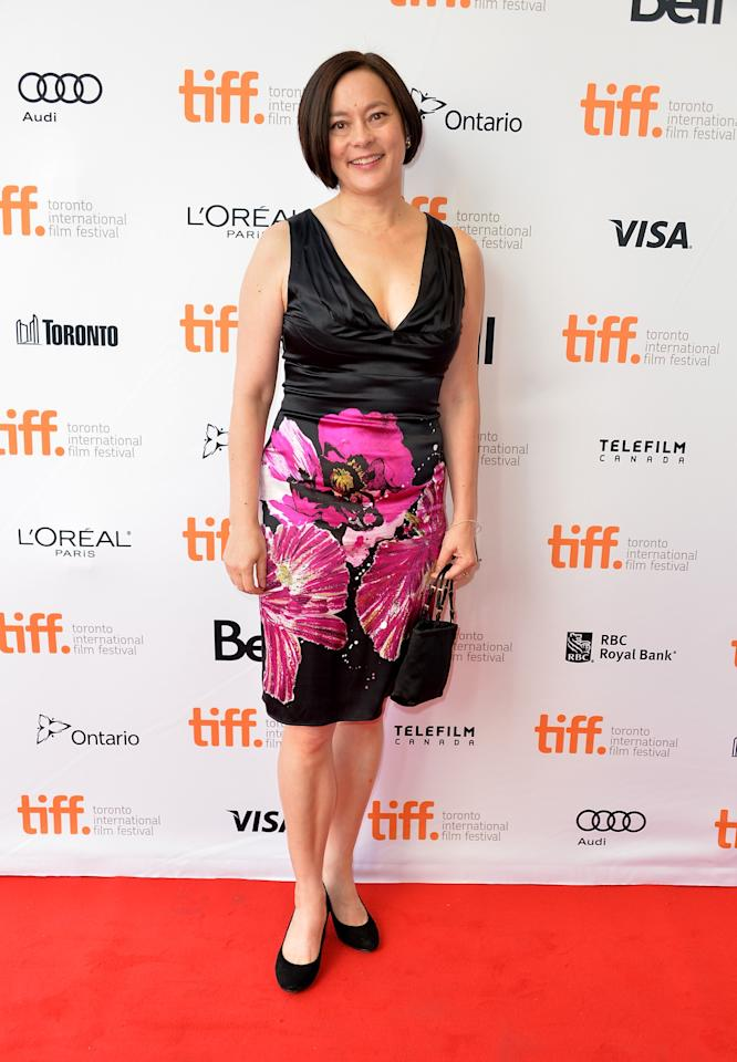 """TORONTO, ON - SEPTEMBER 05: Actress Meg Tilly arrives at """"The Big Chill"""" 30th Anniversary screening during the 2013 Toronto International Film Festival at Princess of Wales Theatre on September 5, 2013 in Toronto, Canada. (Photo by Alberto E. Rodriguez/Getty Images)"""