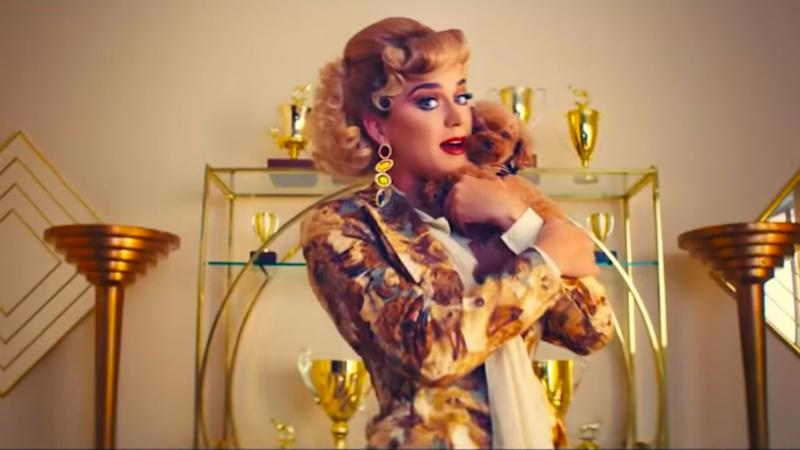 Katy Perry Turns Her Puppy, Nugget, Into a Show Dog in 'Small Talk' Music Video