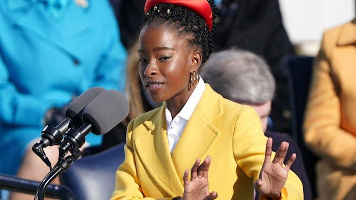 A Star Is Born....Amanda Gorman: Meet Joe Biden's 22-year-old inauguration poet
