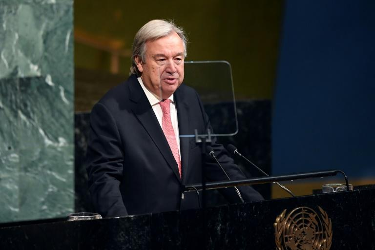 UN Secretary-General Antonio Guterres called the nuclear weapons treaty a 'milestone' but acknowledged more needs to be done