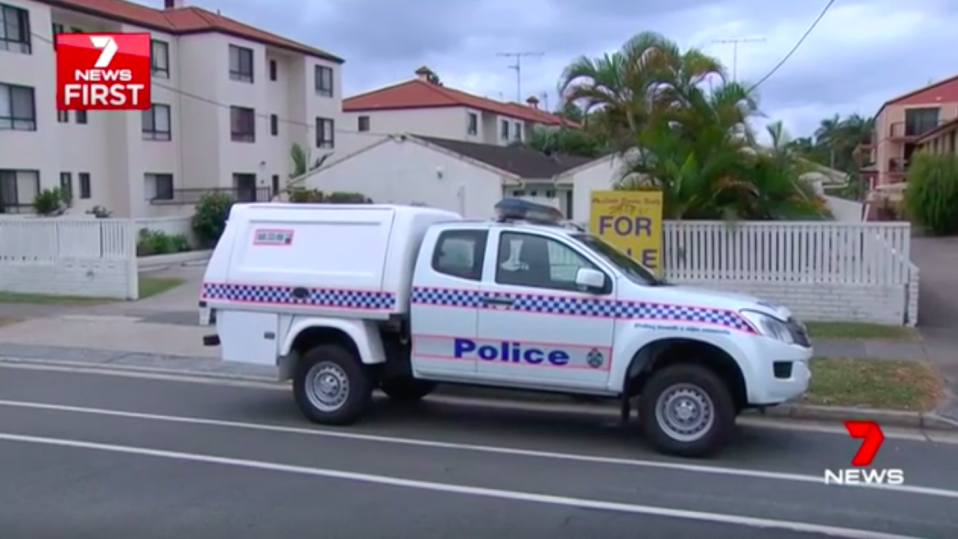 Officers rushed to the home after the mother raised the alarm on Friday afternoon. Source: 7News