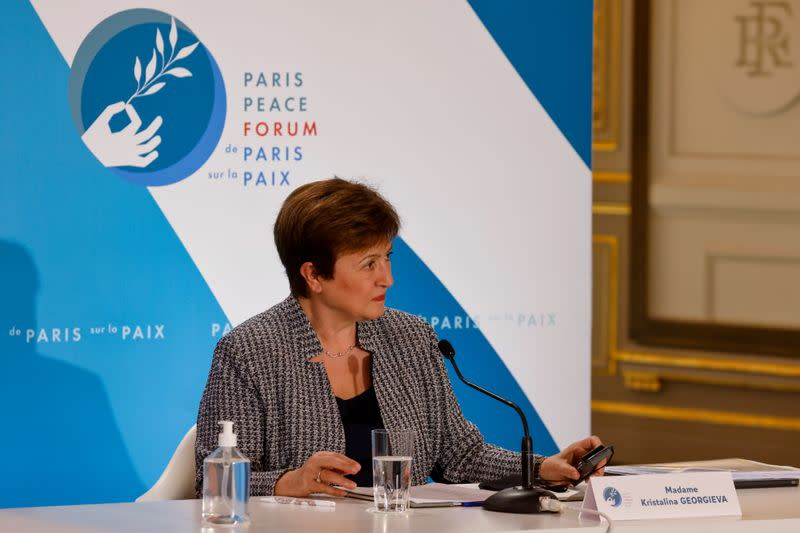 Paris Peace Forum at Elysee Palace in Paris