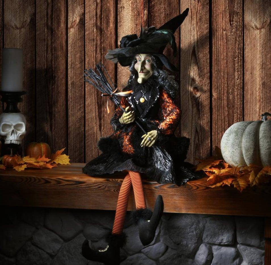<p>It isn't spooky season if you don't have a <span>Halloween Witch</span> ($80) out for display. This particular spell-caster is sturdily handcrafted and can be enjoyed for Halloweens to come. </p>