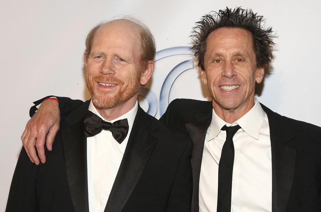 "<a href=""http://movies.yahoo.com/movie/contributor/1800017103"">Ron Howard</a> and <a href=""http://movies.yahoo.com/movie/contributor/1800018908"">Brian Grazer</a> at the 20th Annual Producers Guild Awards in Hollywood - 01/24/2009"