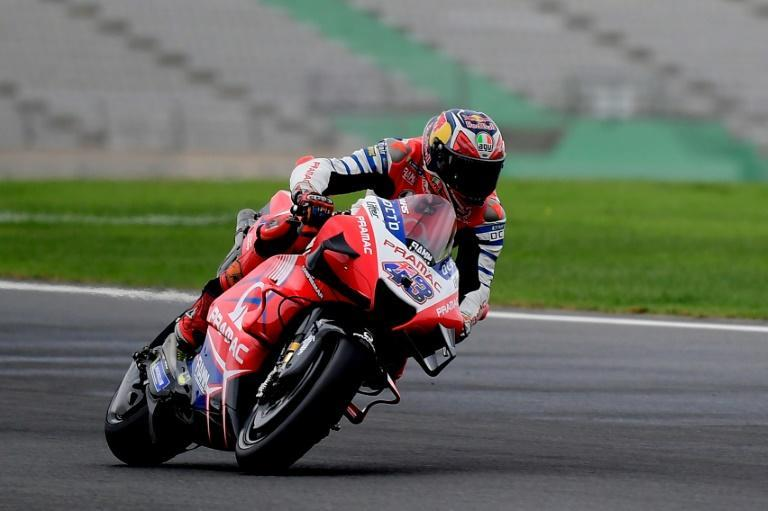 Jack Miller topped the timesheets in Friday's practice sessions in Valencia