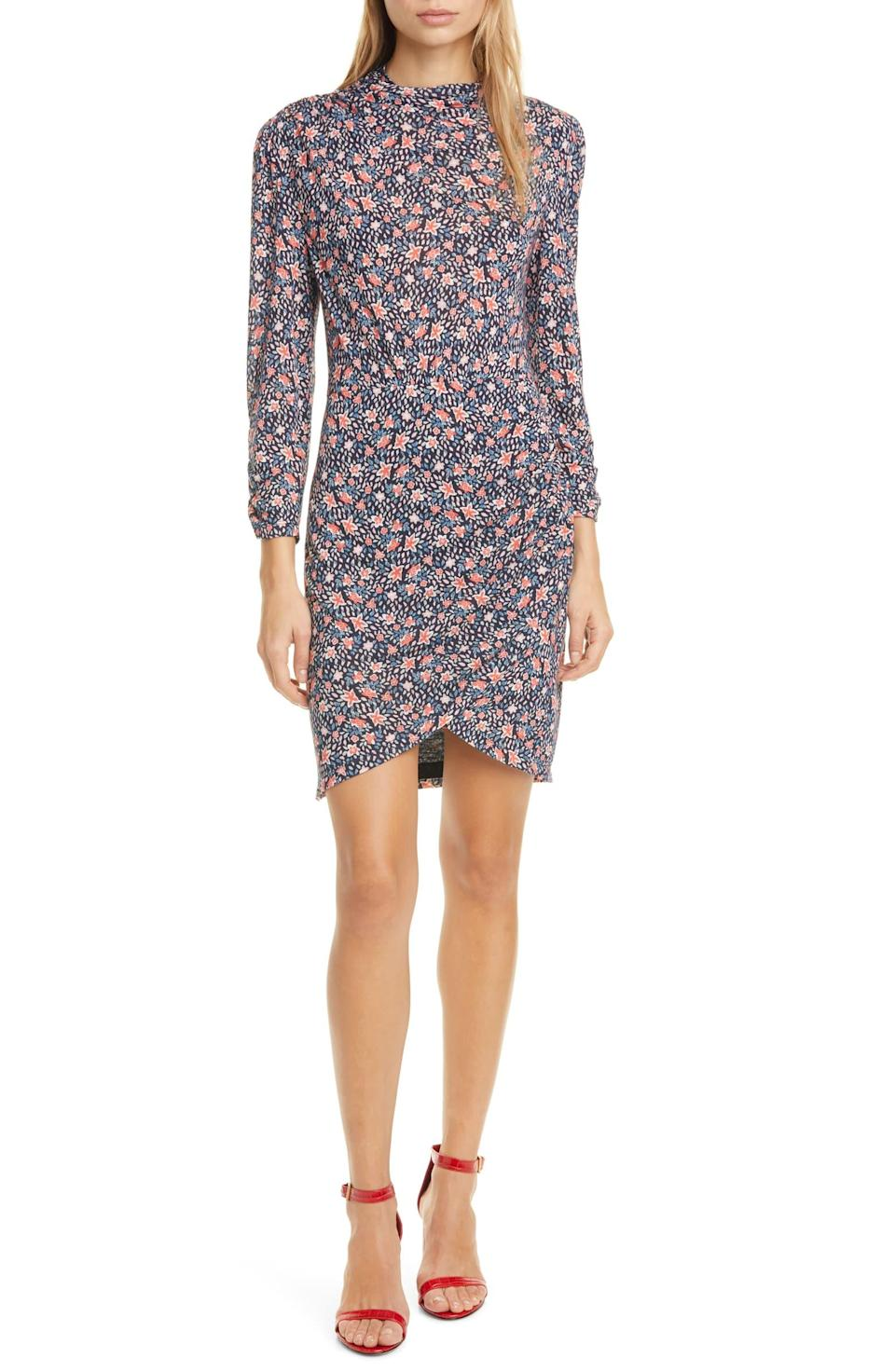 Rebecca Taylor Twilight Ditsy Floral Jersey Dress. Image via Nordstrom.