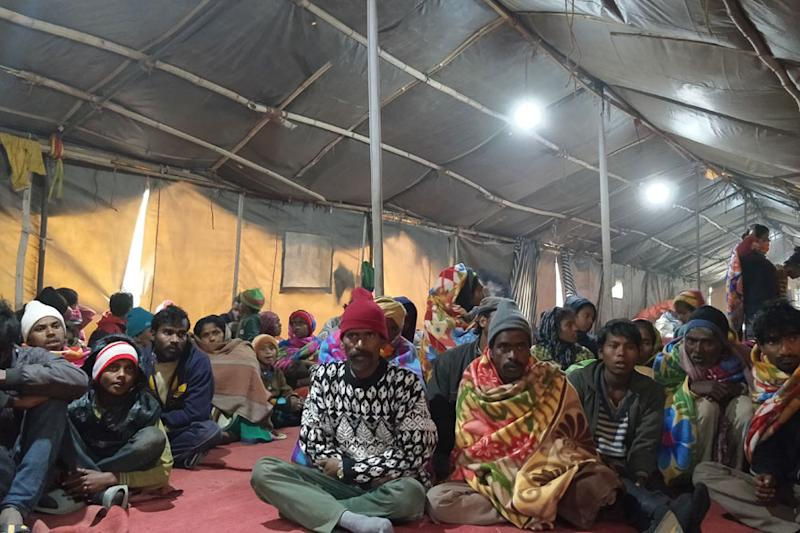 All the labourers who have now reached Delhi and are residing at a night shelter in Sarai Kale Khan, are now waiting for their 'release certificates' from the government of Jammu and Kashmir so that they can begin a new phase of their life.