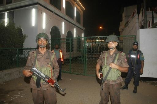 One killed, 80 wounded in attack on Bangladesh Shiite shrine