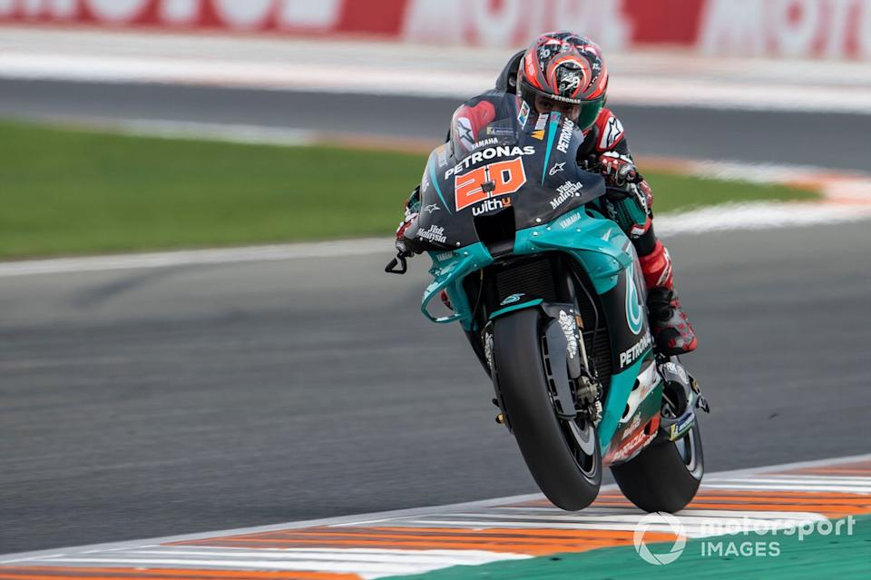 "Fabio Quartararo, Petronas Yamaha SRT<span class=""copyright"">Gold and Goose / Motorsport Images</span>"