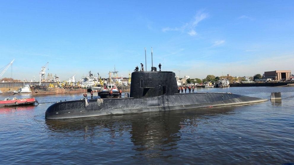 All aboard missing Argentine sub believed to be dead, family of missing sailor says (ABC News)