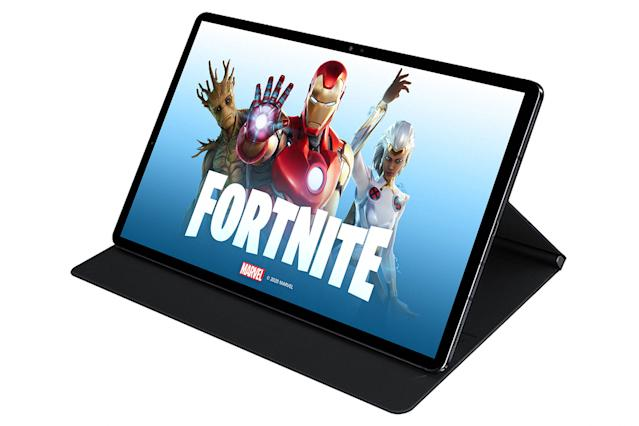 fortnite can run at 90fps on samsung s galaxy tab s7 run at 90fps on samsung s galaxy tab s7