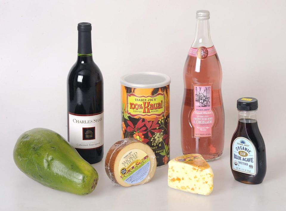 """<p>No, you can't get your favorite Trader Joe's products delivered to your door. """"After considering the options, we're still just big 'ole fans of the neighborhood grocery store where we can say hello when you're looking around wondering–'what's for dinner?'"""" the company <a href=""""https://www.traderjoes.com/faqs/general-information?categoryid=1"""" rel=""""nofollow noopener"""" target=""""_blank"""" data-ylk=""""slk:writes on its website"""" class=""""link rapid-noclick-resp"""">writes on its website</a>. </p>"""