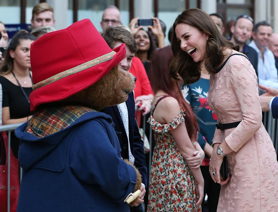 The Duchess of Cambridge made an unexpected visit to Paddington station on Monday morning [Photo: PA]