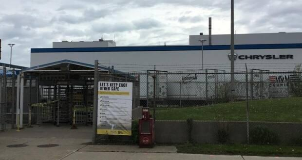The Windsor Assembly Plant is seen in a 2020 file photo. The plant has been shutdown since late March. (Bob Becken/CBC - image credit)