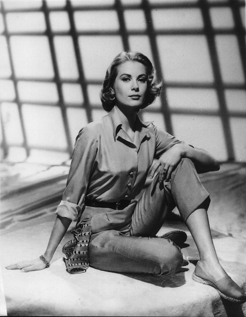 Actress Grace Kelly is shown in this 1956 photo. This is one of the last promotional photos of Grace before she left to wed Prince Rainier in Monaco. (AP Photo)