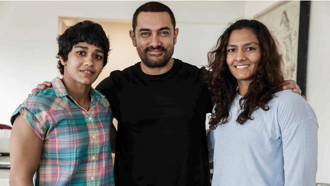 'Dangal' Aamir Khan To Celebrate His B'Day With the Phogat Family