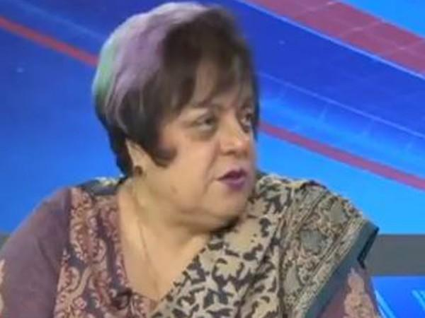 Pakistan's Human Rights Minister Shireen Mazari (file photo)