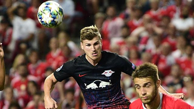 RB Leipzig began their Champions League campaign with a win thanks to Timo Werner's double against Benfica.