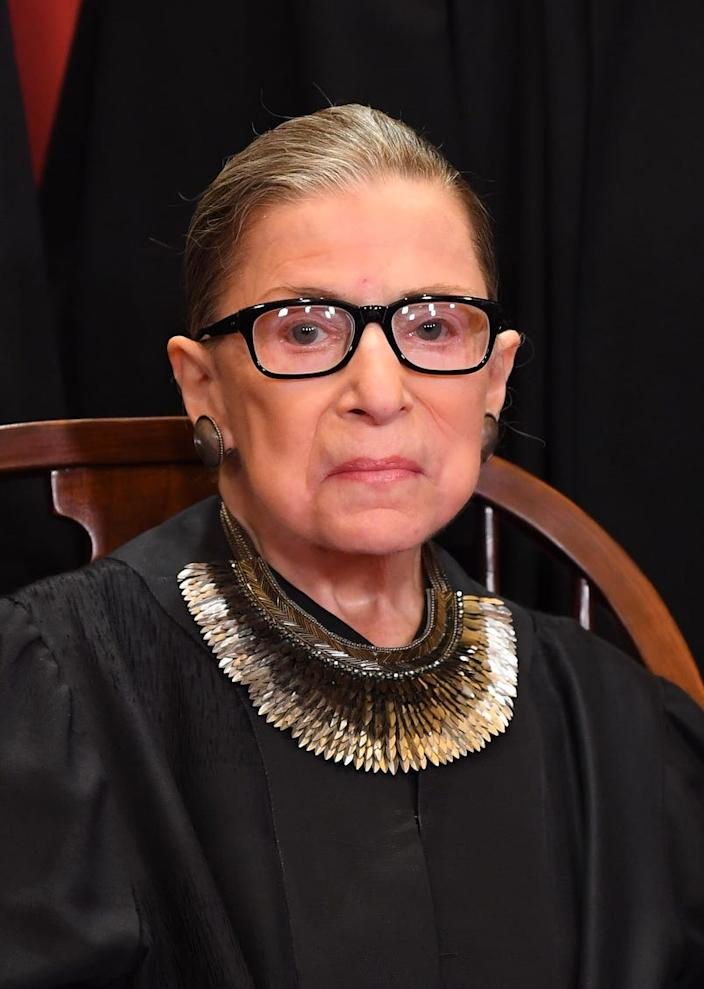 Supreme Court Associate Justice Ruth Bader Ginsburg, a four-time cancer survivor, questioned a religious school's right to fire a teacher undergoing chemotherapy.