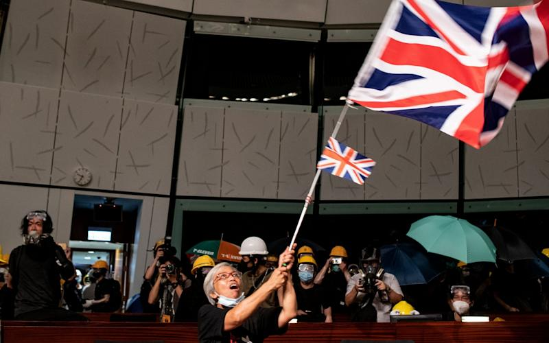 Protest in Hong Kong - PHILIP FONG/AFP