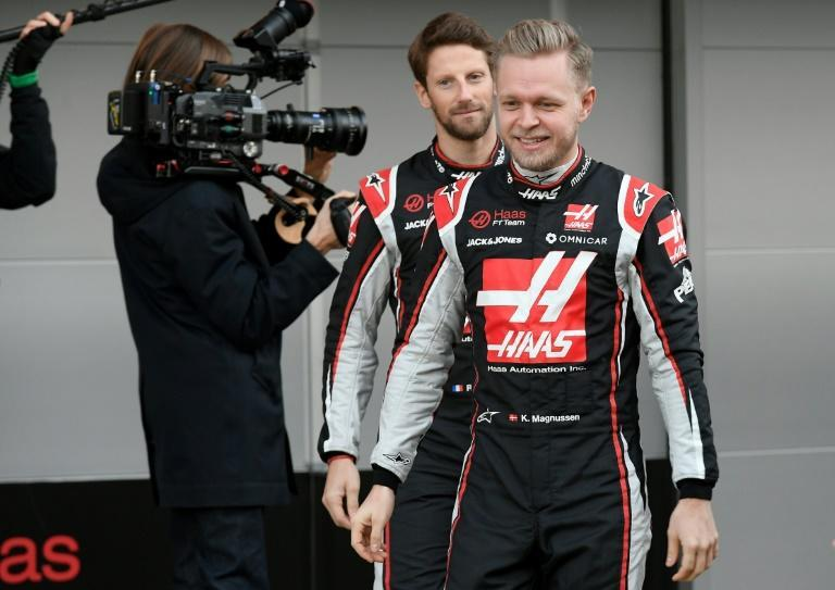 Magnussen (R) and Grosjean (L) will leave Haas at the end of the season
