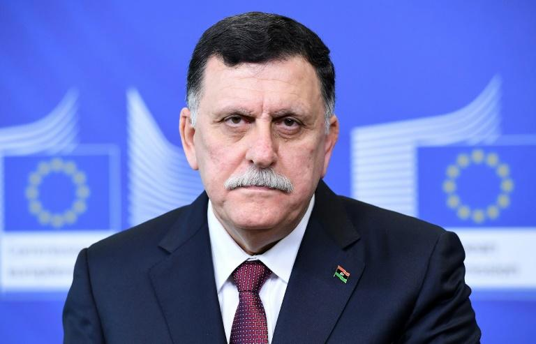 """Libyan unity government head Fayez Sarraj called in an open letter for an """"urgent intervention"""" from the international community """"to end the deterioration of the situation in south Libya"""""""